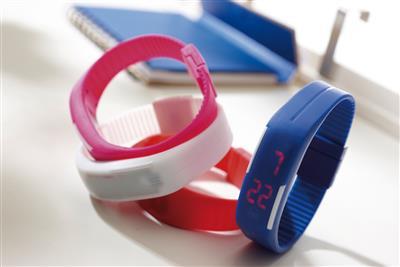 Zegarek na rękę, IN TIME, niebieski-598112