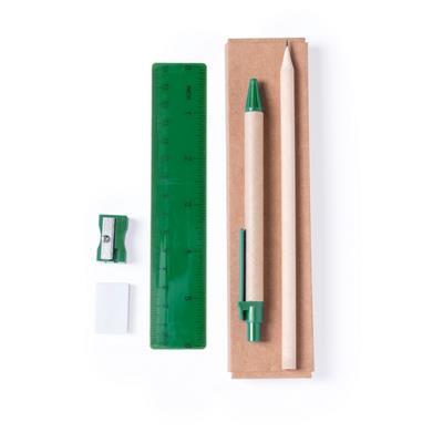 Zestaw szkolny, ołówek, długopis, gumka, temperówka, linijka-702860