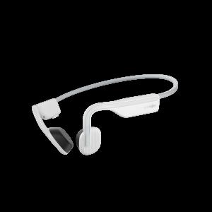 Aftershokz OpenMove Alpine White słuchawki z przewodzeniem kostnym