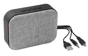Głośnik Bluetooth MESHES, szary