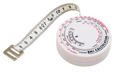 Taśma do pomiaru BMI WASP-WAIST, biały