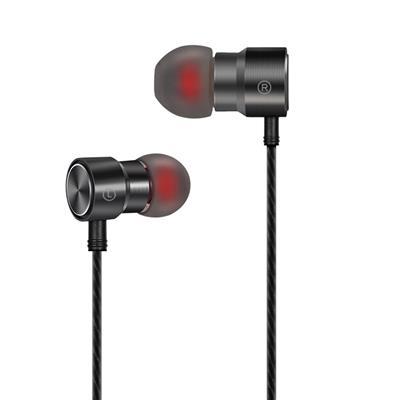 XO Słuchawki przewodowe S9 jack 3,5mm szare