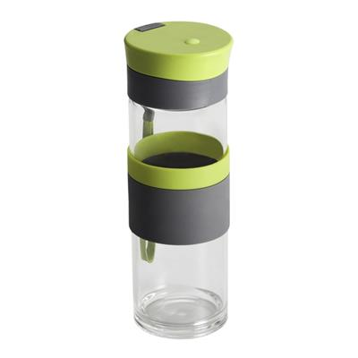 Szklana butelka Top Form 500 ml, jasnozielony