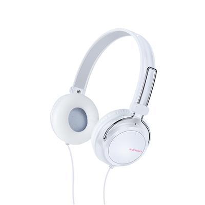 XO Słuchawki przewodowe S32 jack 3,5mm białe nauszne