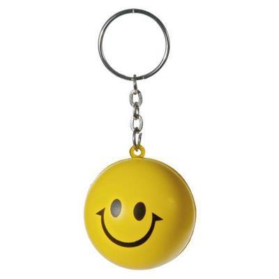 Brelok antystresowy Happy, żółty