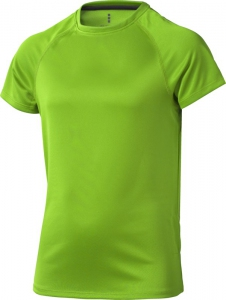 Dziecięcy T-shirt Niagara z krótkim rękawem z tkaniny Cool Fit odprowadzającej wilgoć