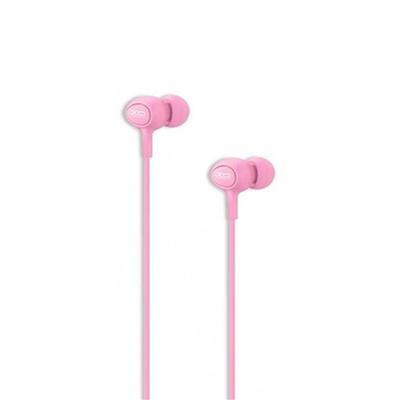 XO Słuchawki przewodowe S6 jack 3,5mm różowa
