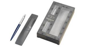 Zestaw upominkowy długopis plus futerał Jotter Royal Blue