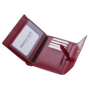 Skórzany portfel damski Mauro Conti-477610