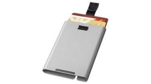 Pilot RFID Cardslider silver