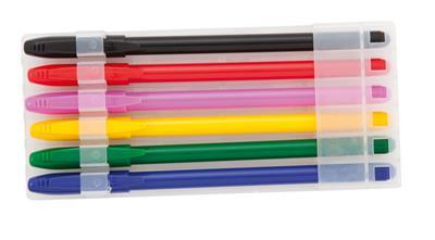 Zestaw długopisów, 6 szt.-668249