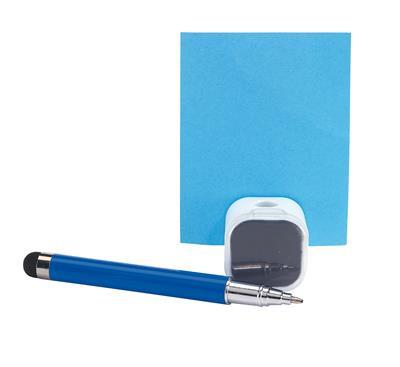 Długopis z czyścikiem do ekranów, SCREEN CLEAN, niebieski-600239
