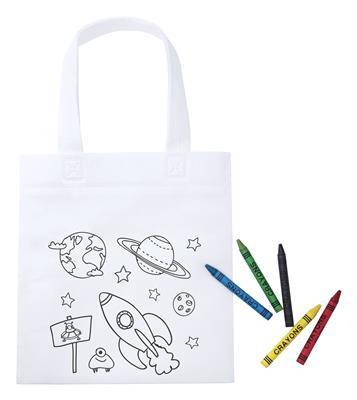 torba na zakupy do kolorowania Mosby