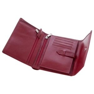 Skórzany portfel damski Mauro Conti-477611