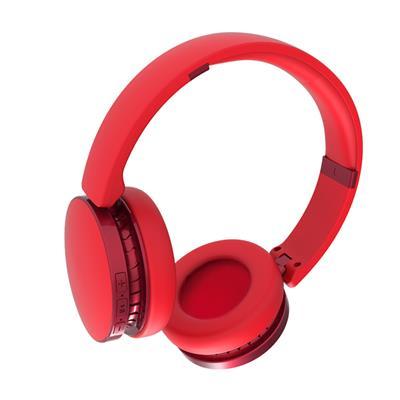 XO Słuchawki bluetooth B32 czerwone nauszne