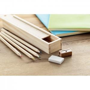 Zestaw kredek i ołówków MO9836-40