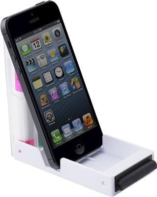Zestaw zakreślaczy, stojak na telefon, czyścik do ekranu-477189