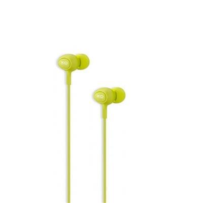 XO Słuchawki przewodowe S6 jack 3,5mm zielona