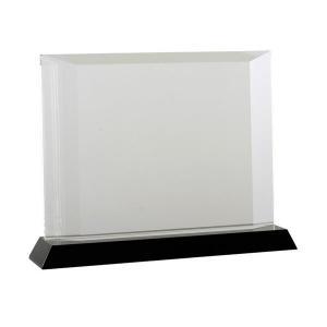 Trofeum Elegance, transparentny/czarny