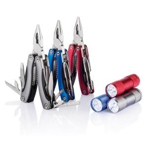 Zestaw narzędzi, narzędzie wielofunkcyjne i latarka-475369