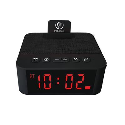 REBELTEC głośnik z budzikiem SoundClock 120 czarny