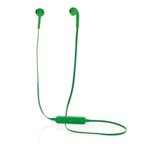 Bezprzewodowe słuchawki douszne w pokrowcu