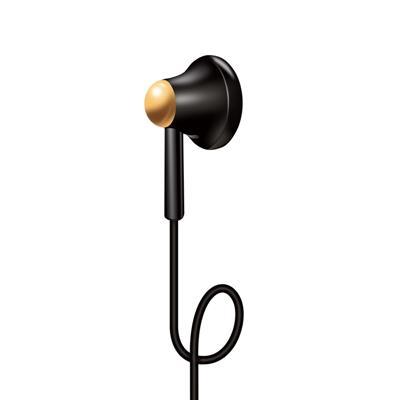 XO Słuchawki przewodowe S27 jack 3,5mm czarne
