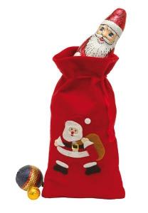 Świąteczna torba, EXCITING, czerwony/biały/czarny