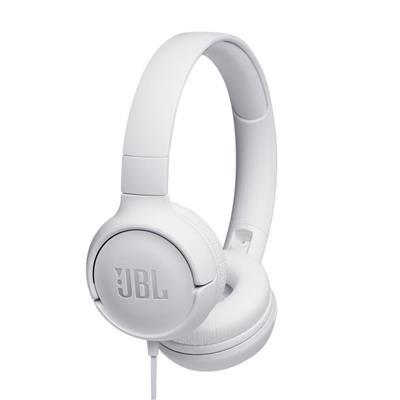 JBL słuchawki przewodowe nauszne T500 białe
