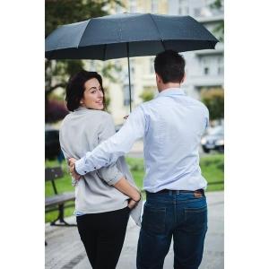 Składany parasol sztormowy Vernier, czarny-547913