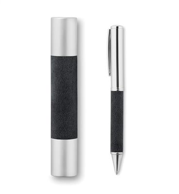 Metalowy długopis w tubie      MO9123-03
