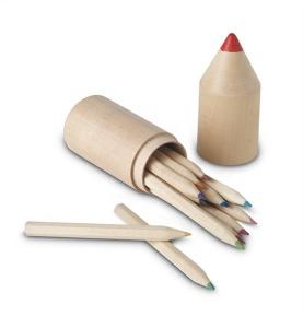 12 drewnianych kredek          IT2691-40