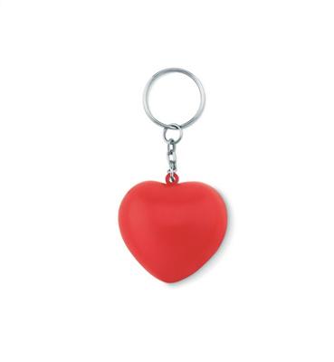 Brelok serce z PU              MO9210-05