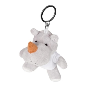 Rupert, pluszowy nosorożec, brelok