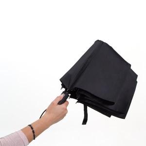 Składany parasol sztormowy Vernier, czarny-547914