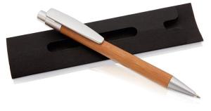 Długopis, czarny pokrowiec
