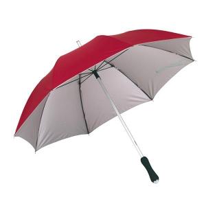 Parasol, JOKER, czerwony/srebrny