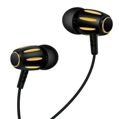 XO Słuchawki przewodowe S29 jack 3,5mm złote