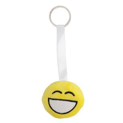 Zawieszka z uśmiechem Happy Three, żółty-548655