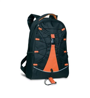Czarny plecak                  MO7558-10