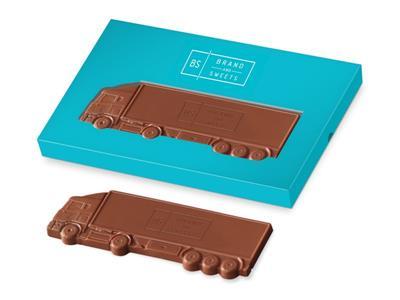 czekoladowy tir