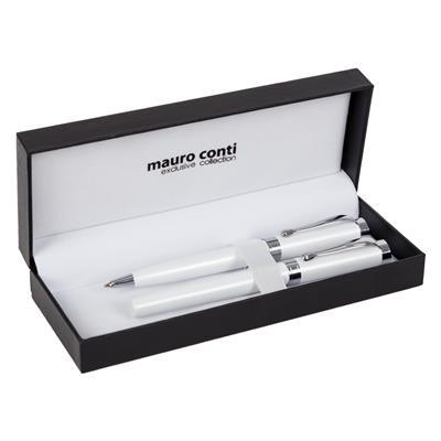 Zestaw piśmienny Mauro Conti, pióro kulkowe i długopis