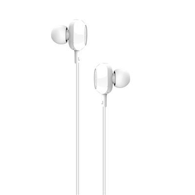 XO Słuchawki przewodowe EP1 jack 3,5mm białe