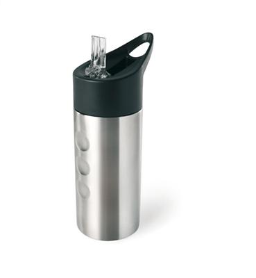 Metalowa butelka, ze słomką    MO7841-16