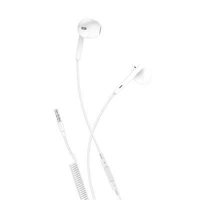 XO Słuchawki przewodowe EP7 jack 3,5mm białe